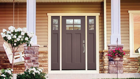 exterior fiberglass door videos therma tru smooth star shaker style doors video